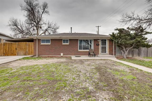 3100 Quari Street, Aurora, CO 80011 (MLS #8349090) :: Kittle Real Estate
