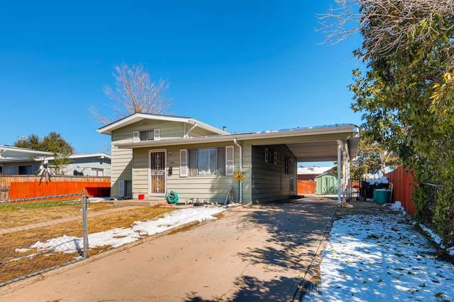 7980 Quebec Street, Commerce City, CO 80022 (#8351026) :: The Gilbert Group