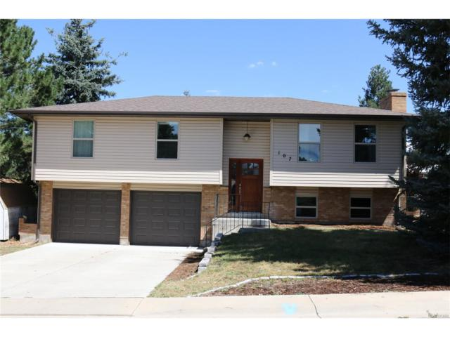 107 Elm Avenue, Castle Rock, CO 80104 (MLS #8352316) :: 8z Real Estate