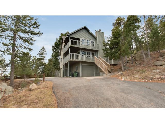 8425 S Doubleheader Ranch Road, Morrison, CO 80465 (#8353239) :: The Umphress Group