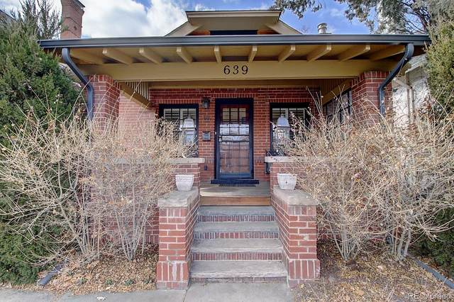 639 N High Street, Denver, CO 80218 (#8355780) :: The Griffith Home Team