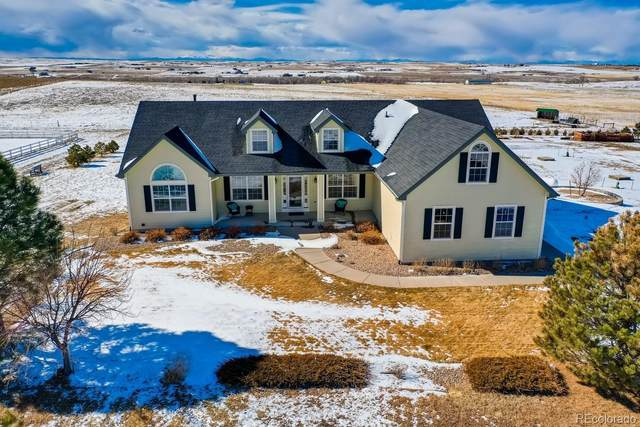2077 S County Road 137, Bennett, CO 80102 (#8358668) :: The Griffith Home Team