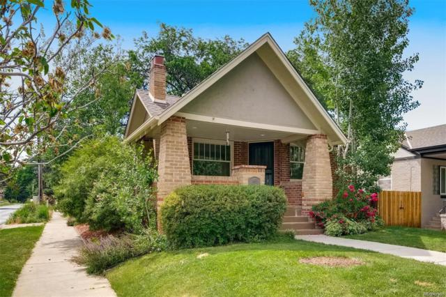 1403 Elm Street, Denver, CO 80220 (#8364835) :: The HomeSmiths Team - Keller Williams