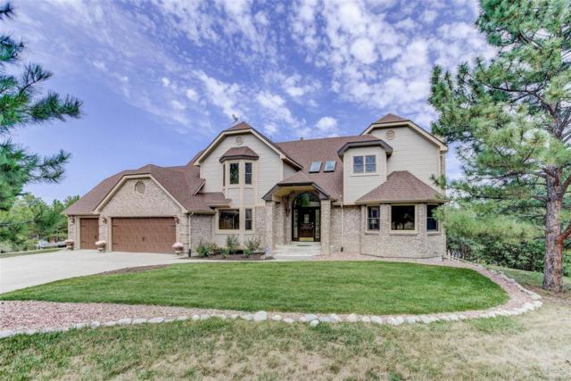 826 N White Tail Drive, Franktown, CO 80116 (#8367397) :: The DeGrood Team