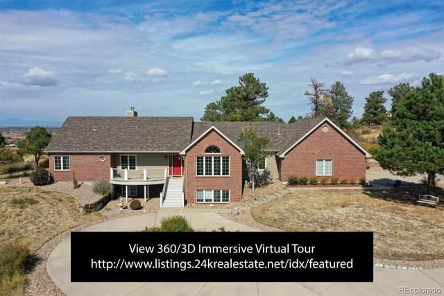 8743 N Sunburst Trail, Parker, CO 80134 (#8371729) :: HomeSmart