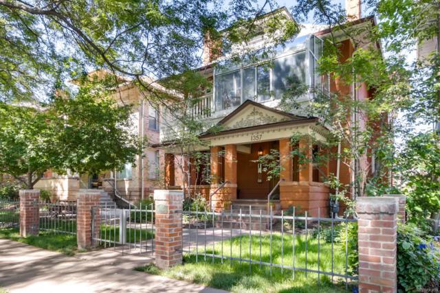 1357 N Franklin Street #4, Denver, CO 80218 (#8373657) :: Mile High Luxury Real Estate