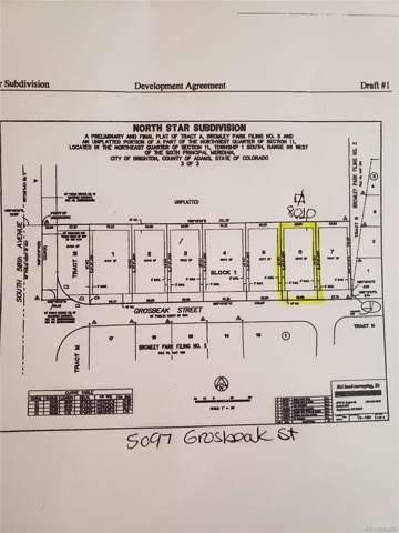 5097 Grosbeak Street, Brighton, CO 80601 (MLS #8378712) :: 8z Real Estate