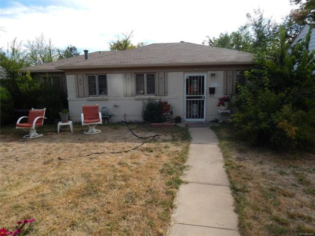 1640 Syracuse Street, Denver, CO 80220 (#8380281) :: House Hunters Colorado