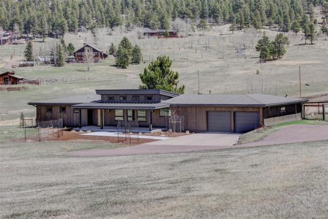 32381 Horseshoe Drive, Evergreen, CO 80439 (#8382761) :: The City and Mountains Group
