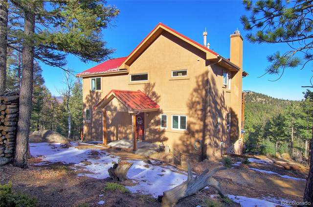 2185 Deer Mountain Road, Manitou Springs, CO 80829 (#8383217) :: The DeGrood Team