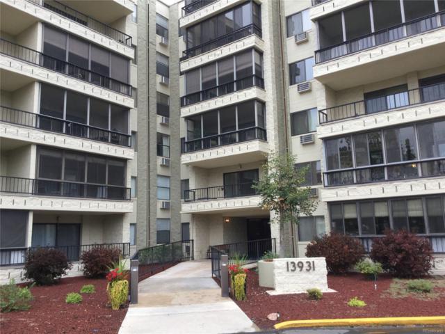 13931 E Marina Drive #105, Aurora, CO 80014 (#8384268) :: The Peak Properties Group