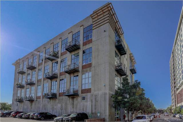 1050 Cherokee Street #211, Denver, CO 80204 (#8384415) :: Re/Max Structure