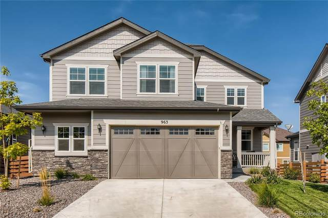 963 Pinecliff Drive, Erie, CO 80516 (#8385952) :: The FI Team