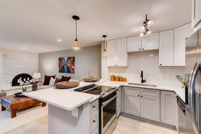 1243 Gaylord Street #308, Denver, CO 80206 (#8386560) :: The Healey Group