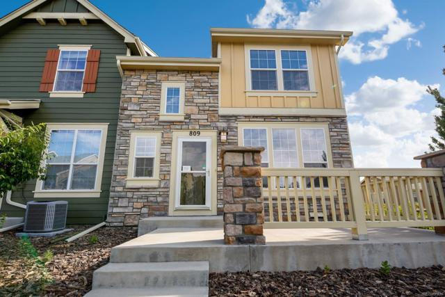 809 Stony Mesa Place, Castle Rock, CO 80108 (#8386809) :: Bring Home Denver