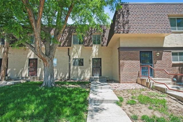 7755 E Quincy Avenue T30, Denver, CO 80237 (#8388145) :: The HomeSmiths Team - Keller Williams