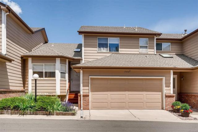 7570 W Coal Mine Avenue C, Littleton, CO 80123 (#8388581) :: The Galo Garrido Group