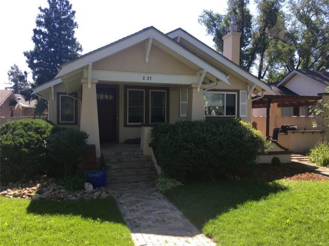 2127 N Cascade Avenue, Colorado Springs, CO 80907 (#8392642) :: Bring Home Denver