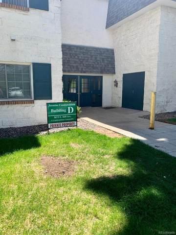 5875 E Iliff Avenue #213, Denver, CO 80222 (#8392921) :: Mile High Luxury Real Estate