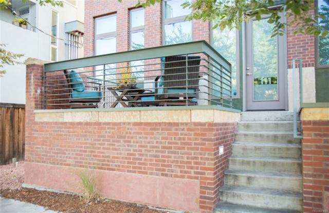 3434 Tejon Street #111, Denver, CO 80211 (#8392949) :: The HomeSmiths Team - Keller Williams
