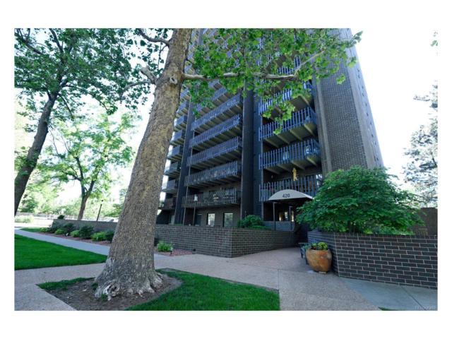 420 S Marion Parkway #702, Denver, CO 80209 (MLS #8399563) :: 8z Real Estate