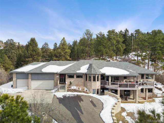 5066 N Lariat Drive, Castle Rock, CO 80108 (#8401942) :: My Home Team
