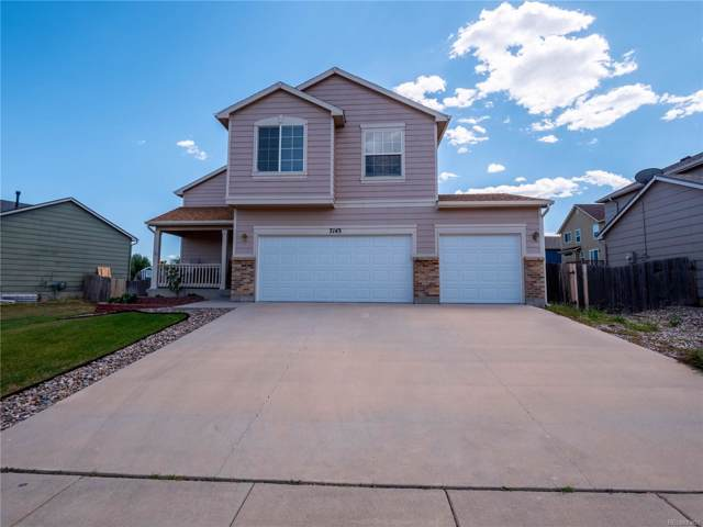 7143 Creekfront Drive, Fountain, CO 80817 (MLS #8405585) :: The Space Agency - Northern Colorado Team