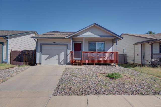 322 Trapper Lane, Fountain, CO 80817 (MLS #8410554) :: Kittle Real Estate