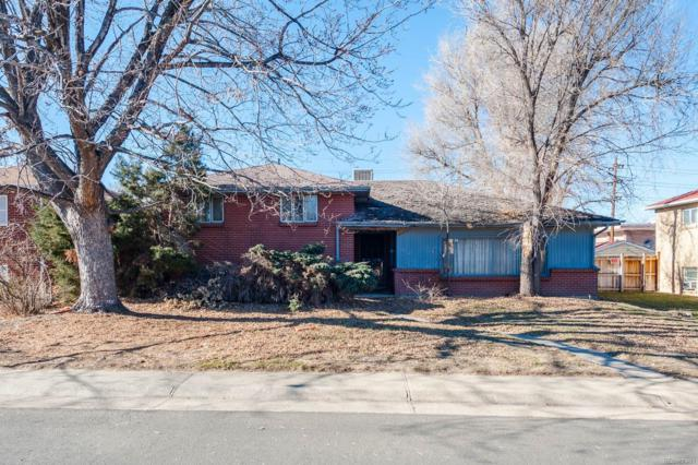 485 S Krameria Street, Denver, CO 80220 (#8410952) :: The HomeSmiths Team - Keller Williams