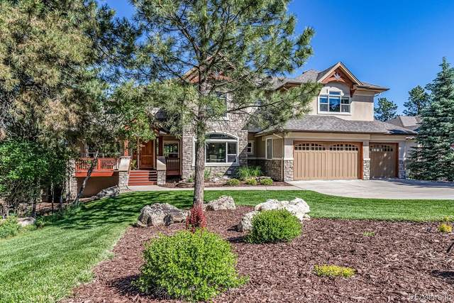 5031 Fox Sparrow Road, Parker, CO 80134 (#8412532) :: The DeGrood Team