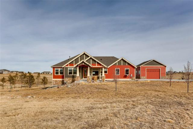 650 Willow Run Circle, Elizabeth, CO 80107 (#8414024) :: Structure CO Group