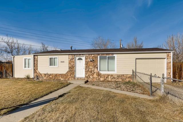 7481 Krameria Drive, Commerce City, CO 80022 (MLS #8417949) :: 8z Real Estate