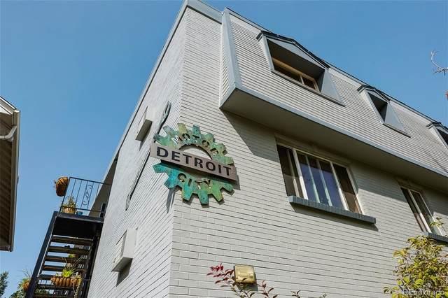 1419 Detroit Street #35, Denver, CO 80206 (#8418539) :: Wisdom Real Estate