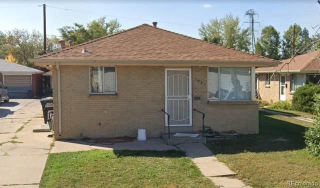 1025 Dale Court, Denver, CO 80219 (#8422546) :: The Gilbert Group