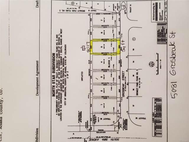 5081 Grosbeak Street, Brighton, CO 80601 (MLS #8423674) :: 8z Real Estate