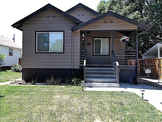 155 S Irving Street, Denver, CO 80219 (#8429333) :: The DeGrood Team