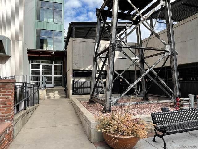 2960 Inca #107 Street, Denver, CO 80202 (#8429378) :: milehimodern