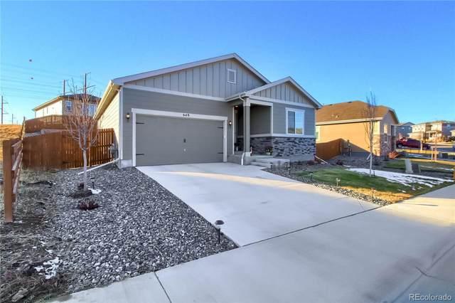 649 Blue Teal Drive, Castle Rock, CO 80104 (#8430494) :: HomeSmart