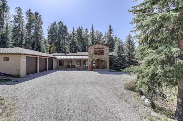 8701 Grizzly Way, Evergreen, CO 80439 (#8432332) :: Berkshire Hathaway Elevated Living Real Estate