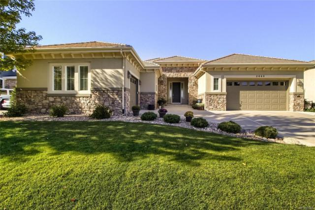 2660 Rockbridge Drive, Highlands Ranch, CO 80129 (#8432970) :: The Dixon Group