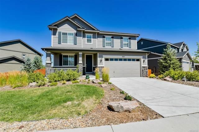 1611 Castle Creek Circle, Castle Rock, CO 80104 (MLS #8436637) :: Keller Williams Realty