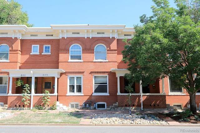 605 E 16th Avenue, Denver, CO 80203 (MLS #8437970) :: 8z Real Estate
