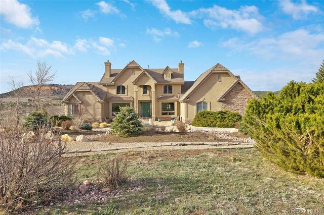 617 Forest View Court, Palmer Lake, CO 80132 (#8439336) :: The Harling Team @ HomeSmart