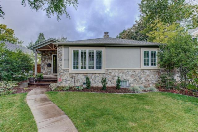 1465 S Elizabeth Street, Denver, CO 80210 (MLS #8442463) :: 8z Real Estate