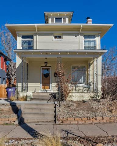 2337 E 12th Avenue, Denver, CO 80206 (#8442550) :: The Dixon Group