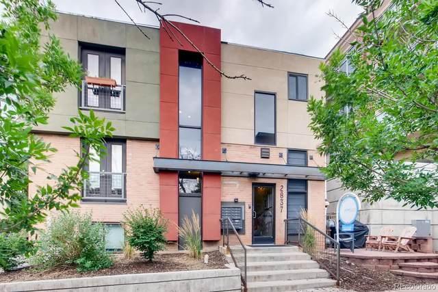 2837 Vallejo Street #106, Denver, CO 80211 (#8444561) :: Finch & Gable Real Estate Co.