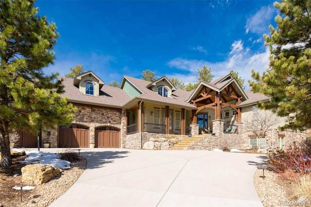 2407 Saddleback Drive, Castle Rock, CO 80104 (#8446172) :: The Gilbert Group