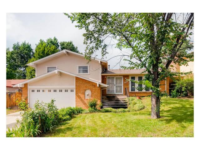8633 E Saratoga Place, Denver, CO 80237 (MLS #8446278) :: 8z Real Estate