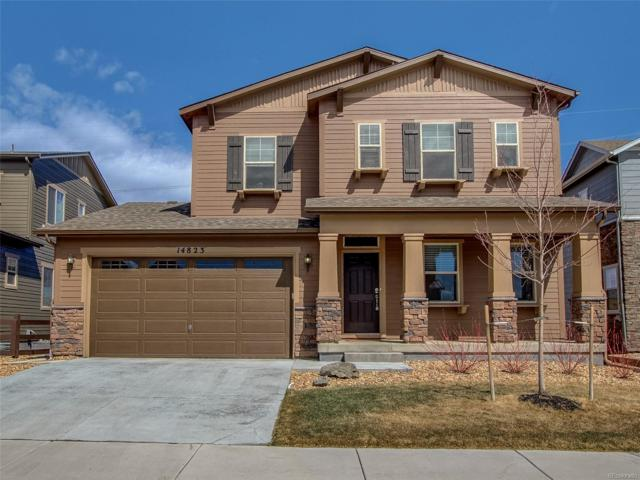 14823 Haley Avenue, Parker, CO 80134 (#8448284) :: The Peak Properties Group