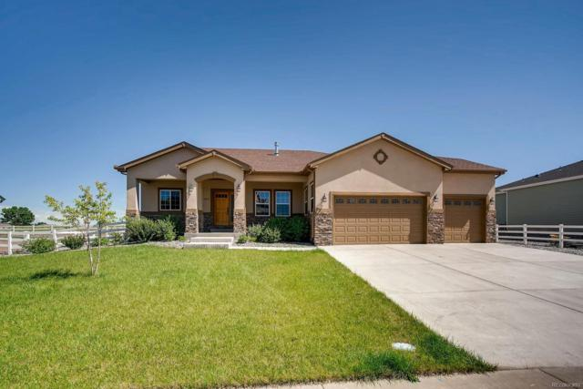 1857 Trail Blazer Road, Fort Lupton, CO 80621 (#8448809) :: The Galo Garrido Group